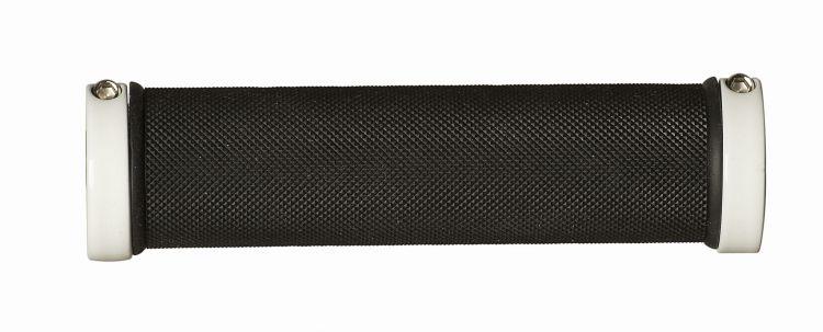 Herrmans, Griffe, Diamond Lock DD28, LOCKING, 2-Komponenten-Griff, Länge: 130mm, Farbe: schwarz/weiß, phthalat- / PAK- / latex und kautschukfrei, auf