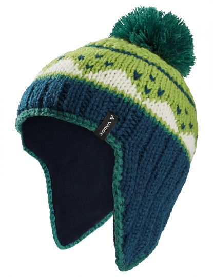 Kids Knitted Cap IV S deep water