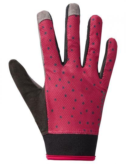 Women's Dyce Gloves II 6 crimson red