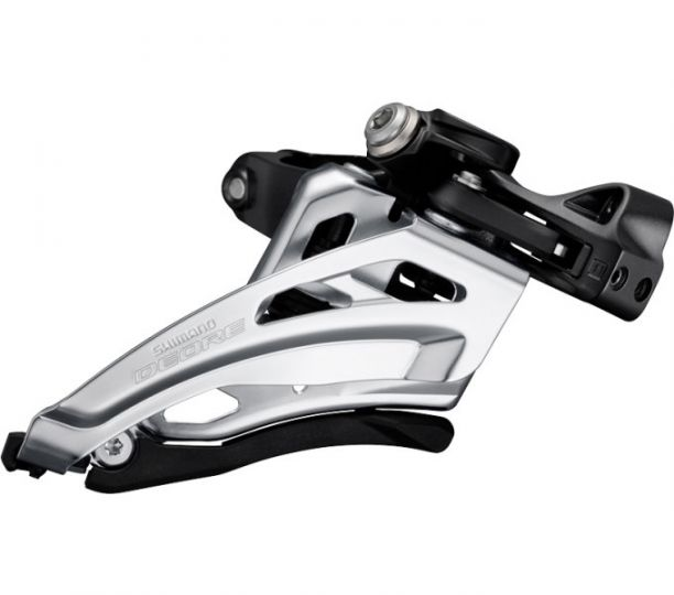 Umwerfer DEORE MTB FD-M6020 SIDE SWING, Schelle mittig, Front-Pull
