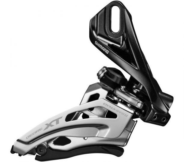 Umwerfer DEORE XT FD-M8020 2x11 SIDE SWING, Direktmontage hoch, Front-Pull