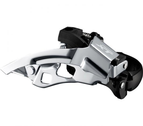Umwerfer DEORE XT Trekking FD-T8000 3x10, Schelle tief, Dual-Pull