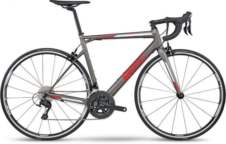 BMC Teammachine SLR02 105  Grey Red 2017