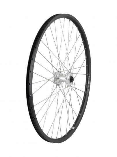 "Electra Wheel Front Townie GO! 8D 26"""" Silver"