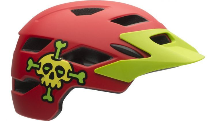 Bell Helm Sidetrack Child 16 unisize rot