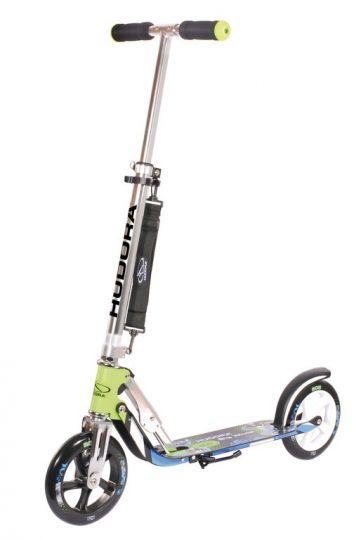 "Hudora City Scooter Big Wheel 8"" 205 blau-grün"