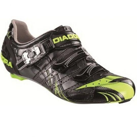 Diadora Rennradschuhe Proracer 2.0 Carbon schwarz/gelb