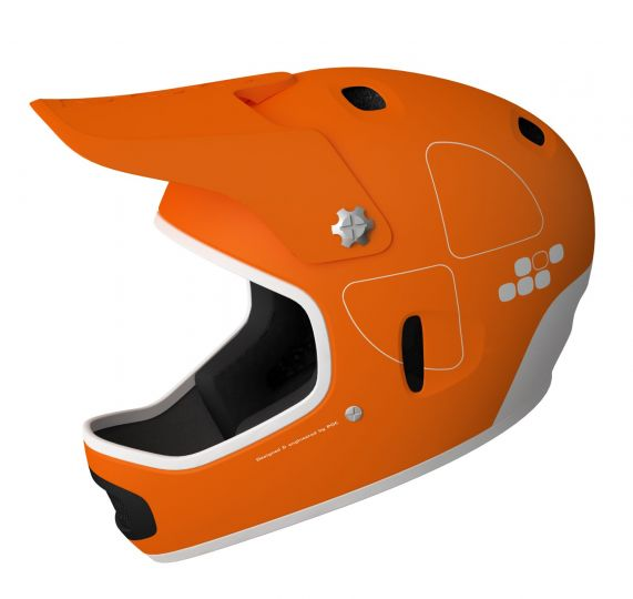 POC Helmet Cortex Flow  Iron Orange  / L-XL (58-60)