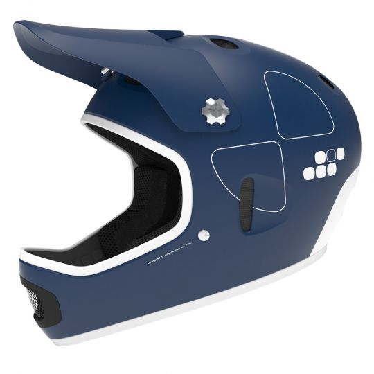 POC Helmet Cortex Flow Lead Blue / L-XL (58-60)
