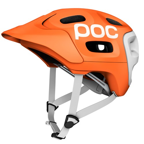 POC Trabec Race Orange-White-M-L M-L