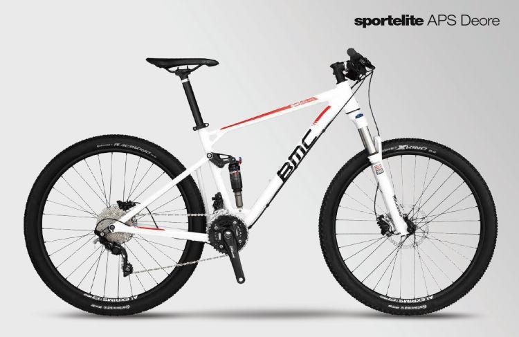 BMC Sportelite APS Deore 2017 weiss