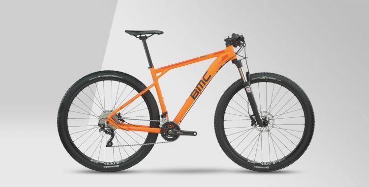 BMC Teamelite TE03 Deore/SLX 2017 orange
