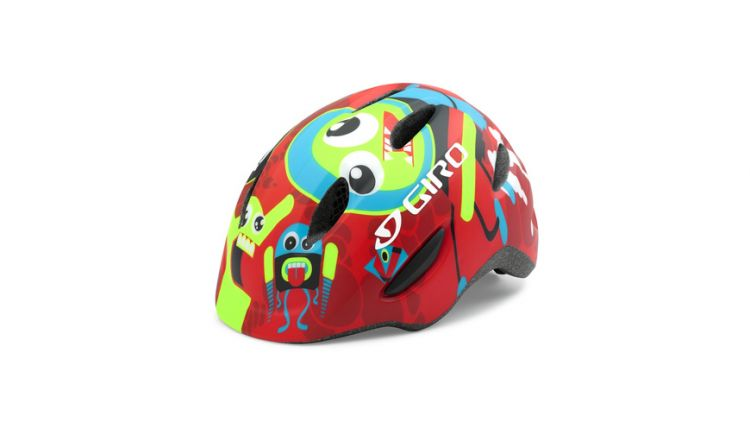 Giro Fahrradhelm Scamp 16 red