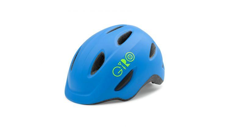Giro Fahrradhelm Scamp 16 blue/lime XS