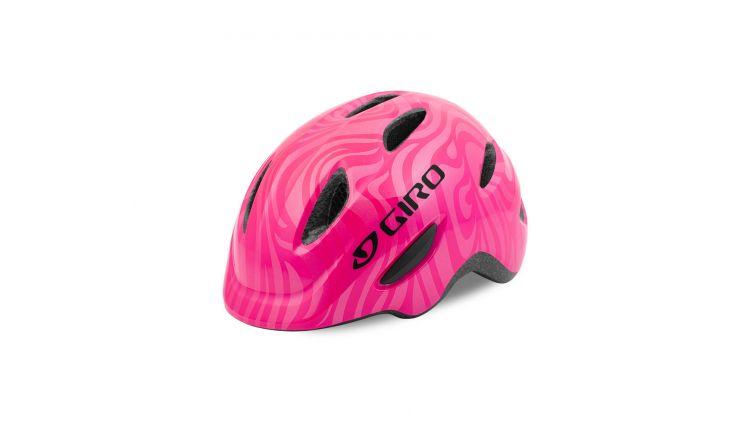 Giro Fahrradhelm Scamp 17 bright pink swirl XS