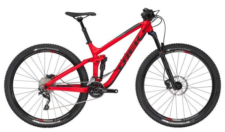 "Trek Fuel EX 7 29 21.5"""" Matte Viper Red 2017"