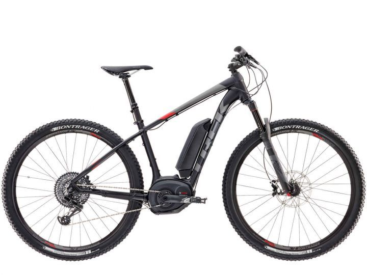 "Trek Powerfly 9 19"""" Matte Trek Black/Viper Red 2017"