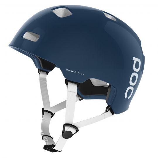 POC Crane Pure Helm 2017 Lead Blue/Hydrogen White M-L M-L/Blau