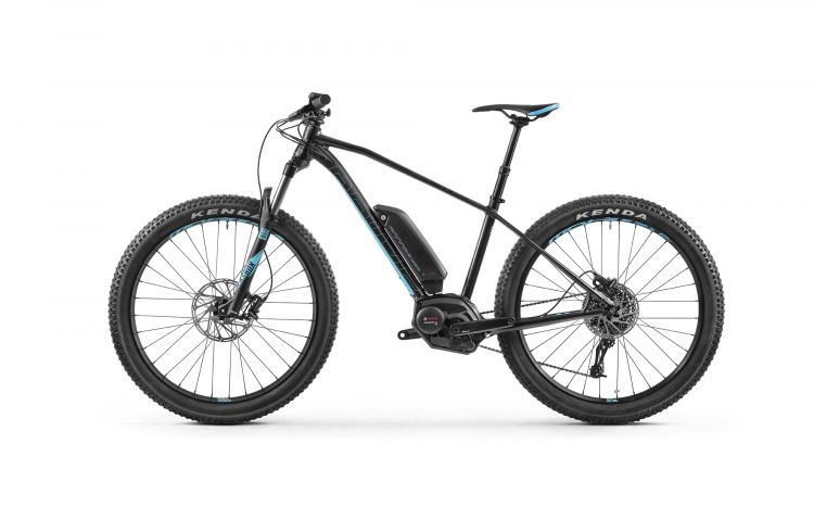 Mondraker e-PRIME+ 2018  BLACK-LIGHT BLUE M